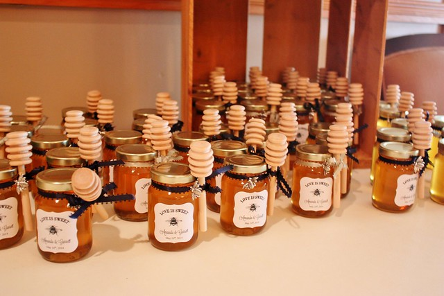 Honey Jars Wedding Favors
