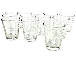 Clear Shot Glasses Bulk