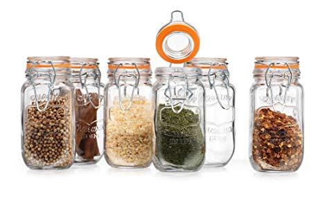 Spice Jars Glass Bulk