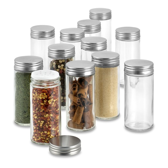 Spice Jars Glass