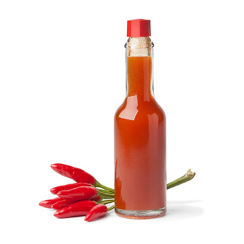 Mini Hot Sauce Bottles