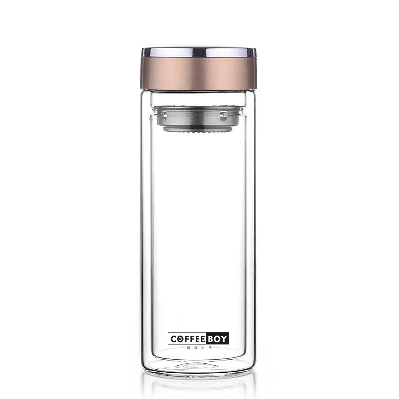 Large Glass Shaker Bottle
