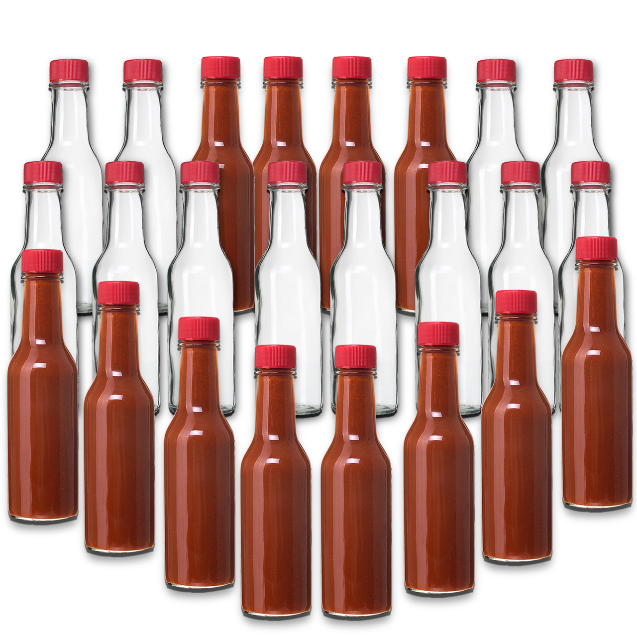 Sauce Bottles Glass