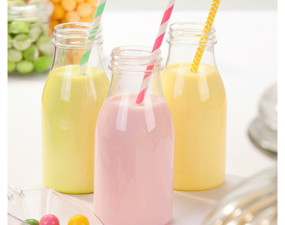 Buy Best Quality Bulk Glass Milk Bottles in Wholesale Prices